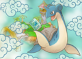 Viajes intercontinentales Lapras Pokémon Mundo Megamisterioso.png