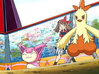 Archivo:EP400 Skitty y Combusken de May.jpg