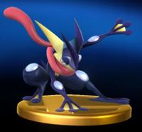 Trofeo de Greninja SSB4 (Wii U)