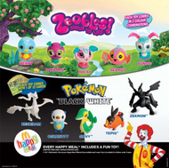 McDonalds Pokémon 2012 Australia y Nueva Zelanda