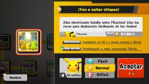 Evento de Pikachus SSB4 Wii U
