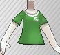Camiseta de poké ball verde.png