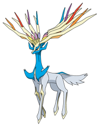 Xerneas variocolor (anime XY).png
