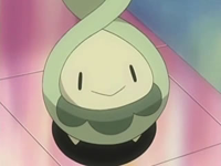 EP494 Budew en el centro Pokémon