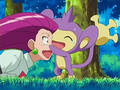 EP491 Aipom con Jessie.png