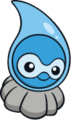 Castform lluvia (dream world).png