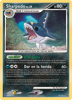 Carta de Sharpedo