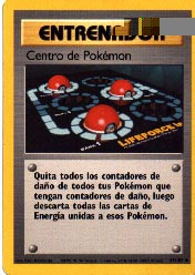 Carta Centro de Pokémon