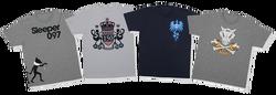 Camisetas de Hypno, Cubone, Articuno y Mewtwo de Pokémon 151.png