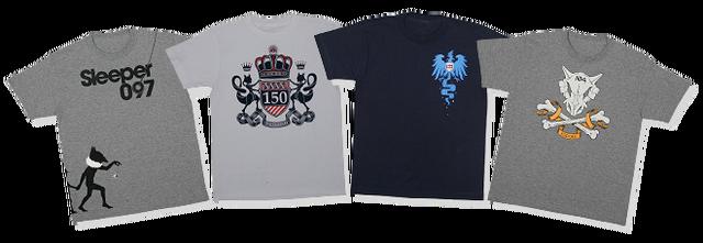 Archivo:Camisetas de Hypno, Cubone, Articuno y Mewtwo de Pokémon 151.png