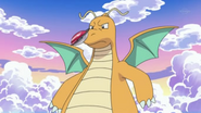 EP751 Iris capturando a Dragonite
