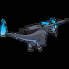 Imagen posterior de Mega-Charizard X en la sexta generación