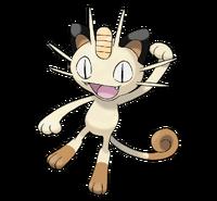 Ilustración de Meowth