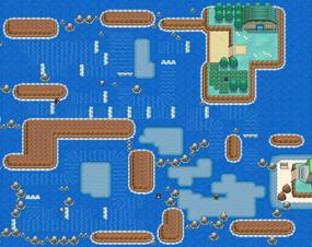 Mapa de la ruta 17