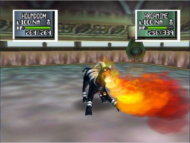 Archivo:Houndoom usa lanzallamas en pokemon stadium 2.jpg