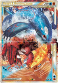 Kyogre groudon (TCG) legend