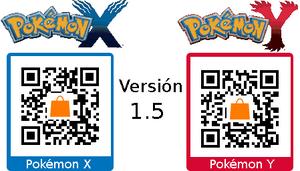 Parche versión 1.5 XY