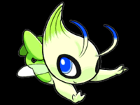 Celebi en Pokémon Ranger- Trazos de Luz
