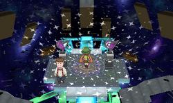 Interior del Gimnasio de Fluxus en los videojuegos