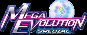 Logo de Mega Evolution Special.