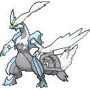 Imagen de Kyurem blanco en Pokémon X y Pokémon Y