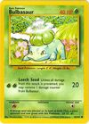 Bulbasaur (Base Set TCG)