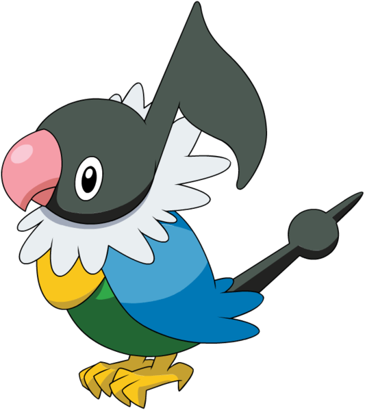 Archivo:Chatot (anime DP).png | WikiDex | Fandom powered ...