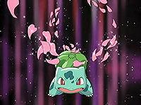 EP380 Bulbasaur de May usando baile de petalo