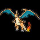 Imagen de Mega-Charizard Y en Pokémon X y Pokémon Y
