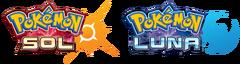 Logo Pokémon Sol y Pokémon Luna.png
