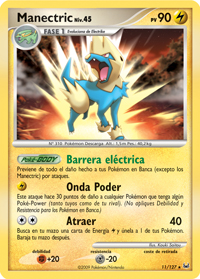 Carta de Manectric