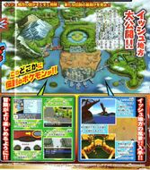 Scan CoroCoro del 11 de junio de 2010 - Datos de Isshu 1