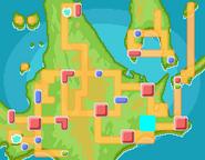 Lago Valor mapa