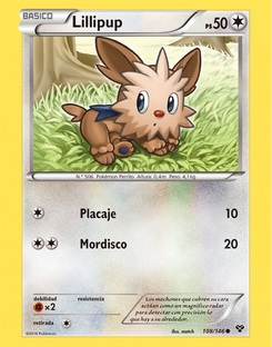 Carta de Lillipup