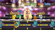 PokéPark 2 minijuego baile multijugador