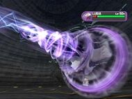 Shadow Lugia using Shadow Blast