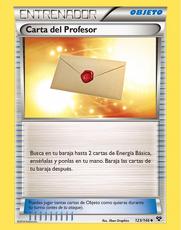 Carta del Profesor (TCG XY)