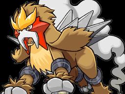 Archivo:Entei en Pokémon Ranger- Trazos de Luz.png