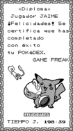 Diploma Pokedex Am