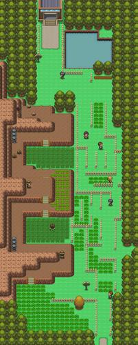 Mapa de la ruta 214
