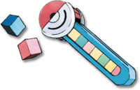 Ilustración del tubo pokécubos