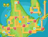Mundo Distorsión mapa