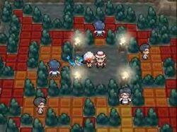 Interior del Gimnasio de Canela en los videojuegos