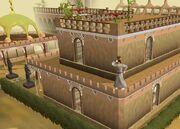 Segun y tercer piso del castillo de al kharid.jpg