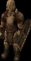 Armadura de bronce (calza)