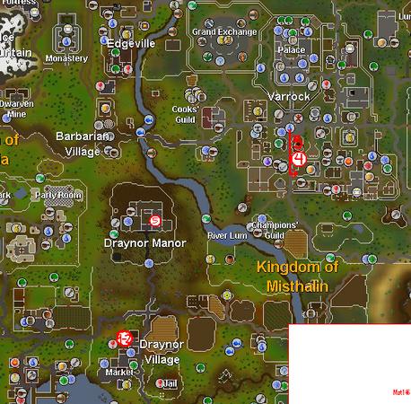 Mapa de la misión.