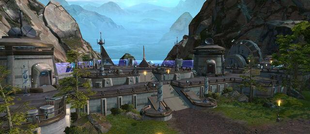 Archivo:Tython Jedi enclave.jpg