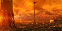 Torre de amarre del Templo Jedi