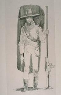 Archivo:Wide-brimmed hat bounty hunter.jpg