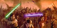 Batalla del Praxeum Jedi (Guerra Yuuzhan Vong)
